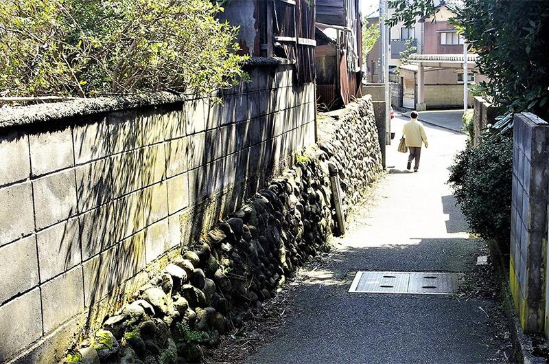 亀坂周辺を歩く-その1 御小屋坂はどこだ
