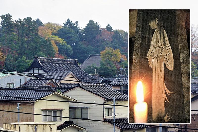 """「あめや坂」伝説と""""隠れ里"""""""