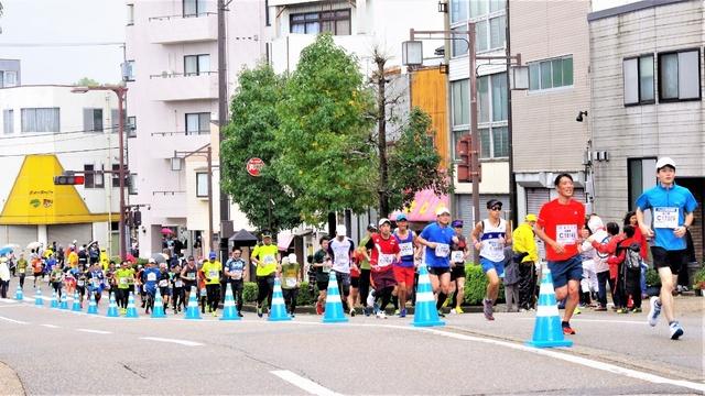駆け抜ける金沢マラソン2018(10.28)