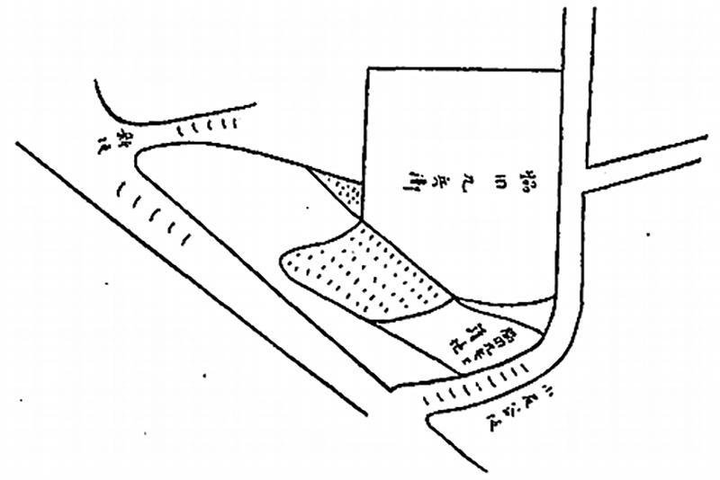 (図2)金澤古蹟志に描かれた挿絵㊨小尻谷坂㊧新坂
