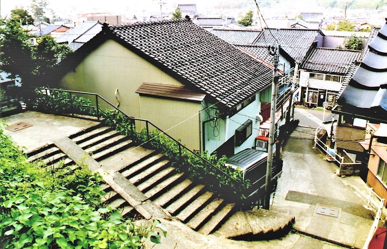 1991年(平成3)の馬坂(提供:東洋設計)
