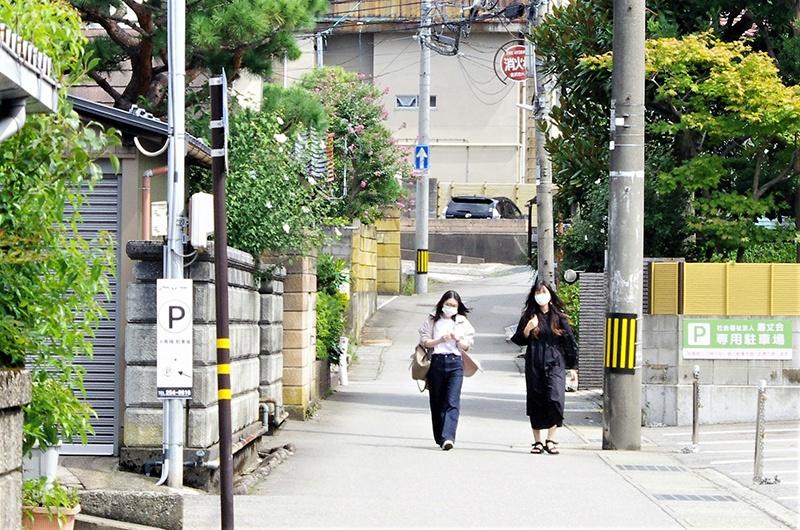 天狗坂と瞽女坂 -本多家家中町の坂